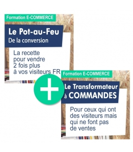 PACK Formation Taux de Conversion : Pot au feu + transformateur
