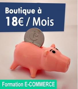 Votre boutique Prestashop pour 18€ par mois