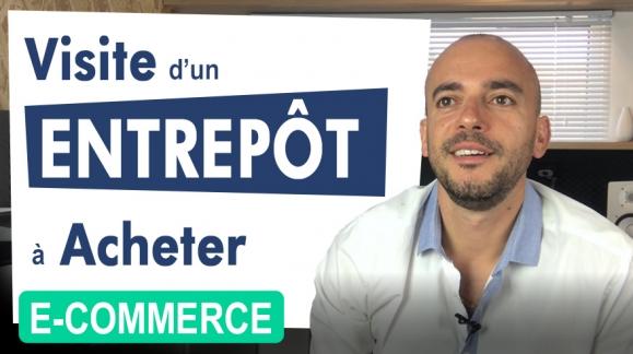 Entrepôt : Visite d'un local pour le e-commerce