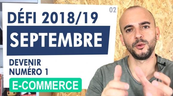 Défi E-commerce : Compte rendu Septembre 2018