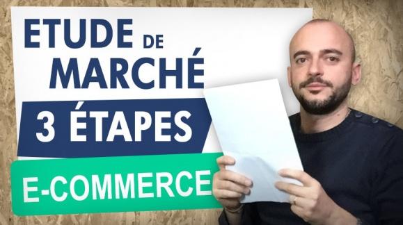 Etude de Marché e-commerce en 3 étapes