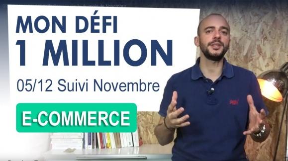 DEFI 1 MILLION € [5/12] : Compte rendu du mois de Novembre