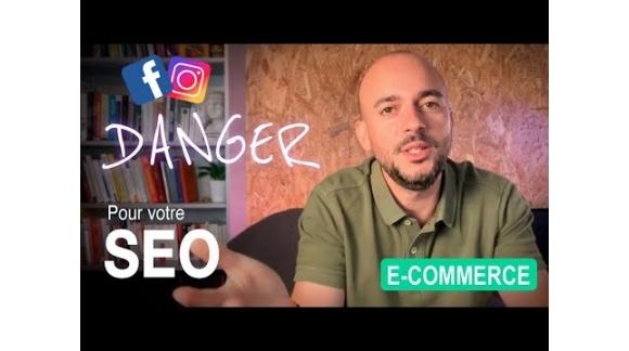 Réseaux sociaux : DANGER pour votre SEO