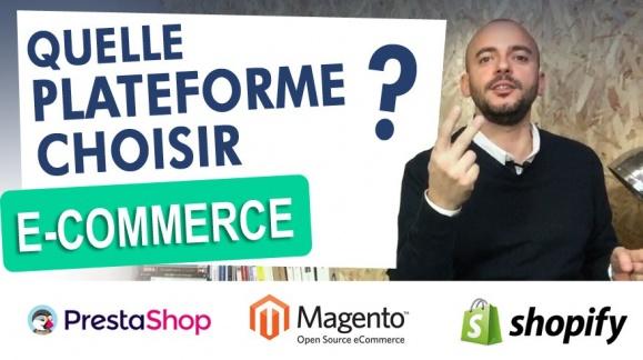 Quelle plateforme choisir pour votre e-commerce ? Retour d'expérience
