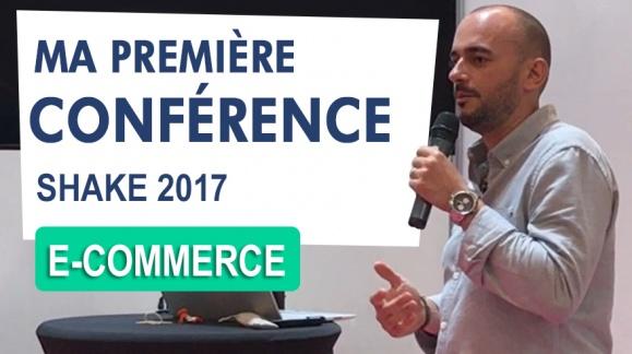 Ma Première Conférence e-commerce à SHAKE