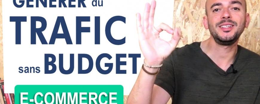 Comment générer du trafic sur son site e-commerce avec zéro Budget