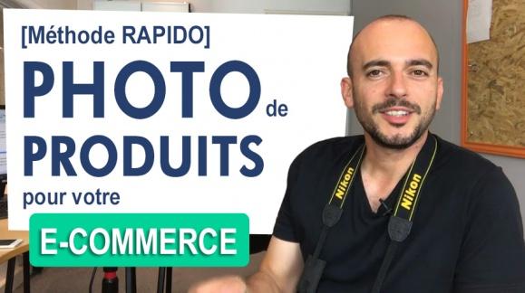 Prendre des photos de produits pour votre e-commerce