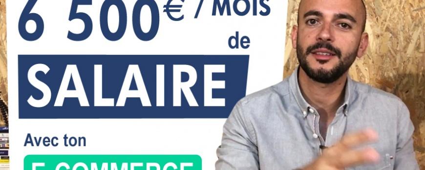 6 200 Euro de Salaire avec ton e-commerce ça rend Heureux ?